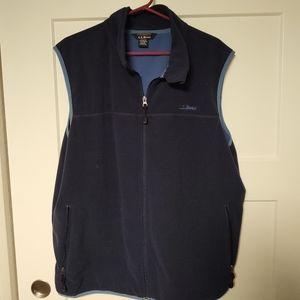 LL Bean fleece vest